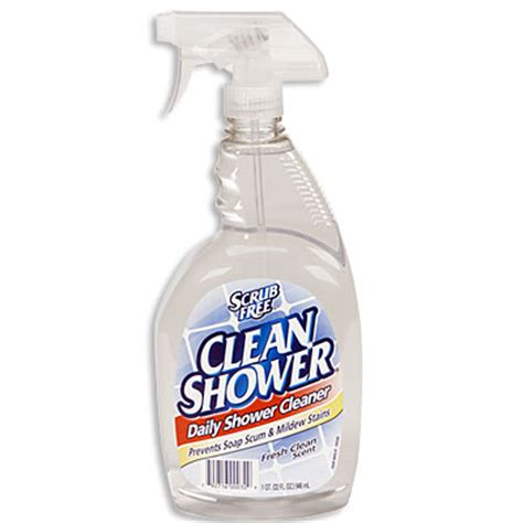 Best Cleaner For Shower by Scrub Free 174 Clean Shower 174 Daily Shower Cleaner Big Lots