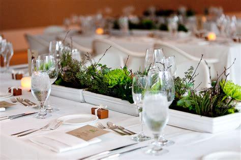 modern green succulent branch centerpiece elizabeth anne designs  wedding blog