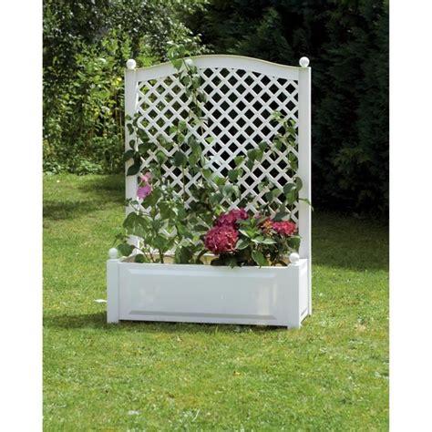Bac à Fleurs Avec Treillis by Jardini 232 Re Avec Treillis Achat Vente Jardini 232 Re Pot