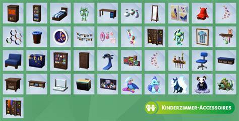 sims 4 kinderzimmer accessoires inhalt kinderzimmer review