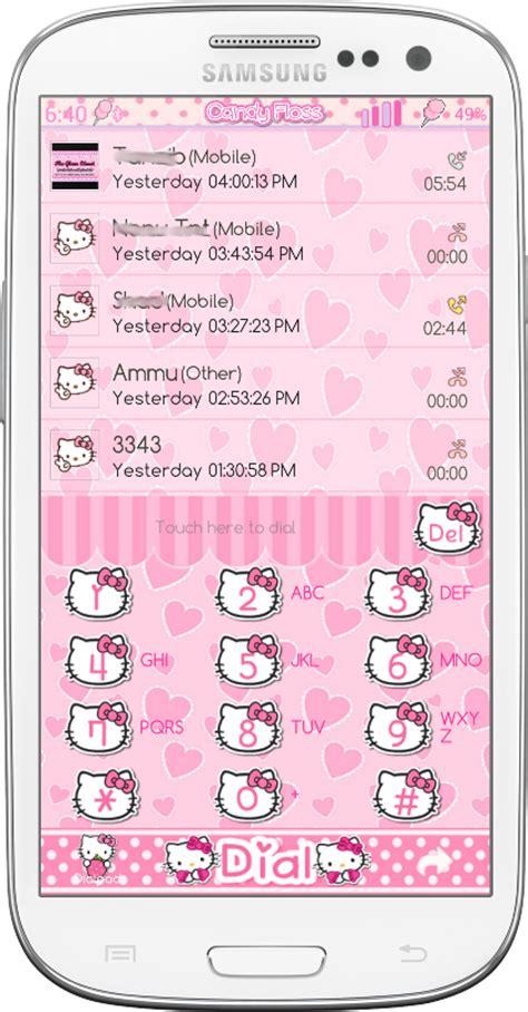 themes sms hello kitty pretty droid themes cute hello kitty go sms and go
