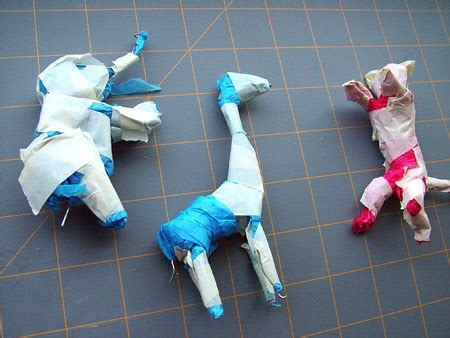 How To Make Paper Mache Easy - easy paper mache circus animals 183 how to make a papier