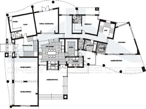floor plan of a modern house contemporary house floor plans open contemporary house