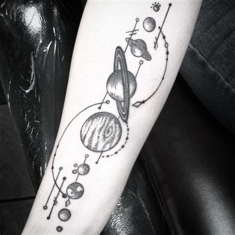 65 facinating solar system tattoo designs their origin