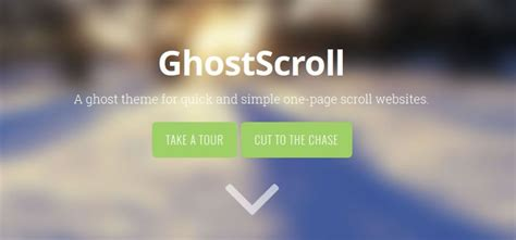 creator theme ghost 20 free themes for ghost