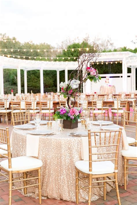 Cypress Floor Plan a chic plum amp champagne wedding every last detail