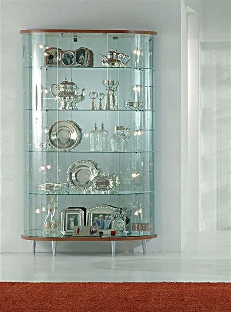 Cream Corner Display Cabinet Glass Display Cabinet Stores Furniture Idfdesign