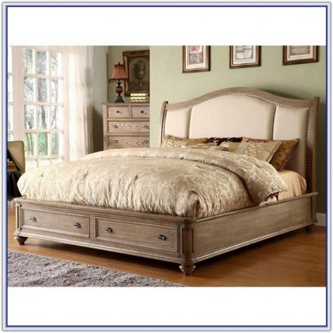 king storage bed frame with drawers california king bed frame with drawers plans
