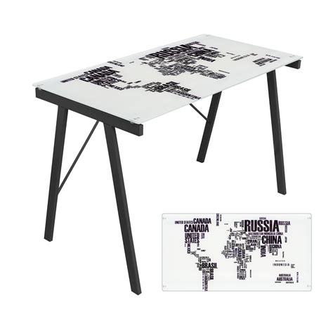 Map Desk by World Map Office Desk Lumisource Interiordecorating