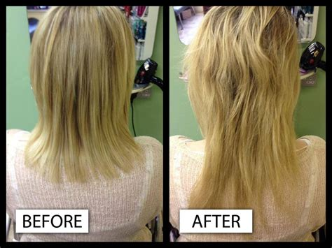 great lengths hair extensions before during after cold great lengths hair extensions