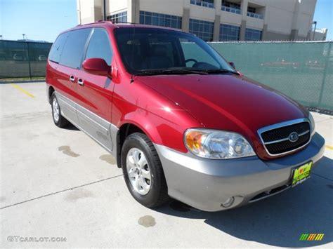 2004 kia sedona ex kia colors 2004 ruby red kia sedona ex 56564119 gtcarlot com car color galleries