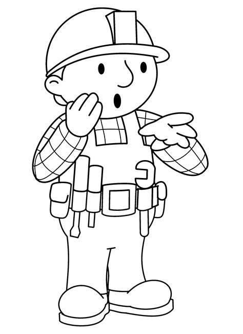 Bob The Builder Coloring Pages To Print Coloring Page Bob The Builder Coloring Pages 67 by Bob The Builder Coloring Pages To Print