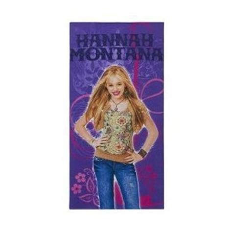 hannah montana bathroom amazon com hannah montana beach towel everything else