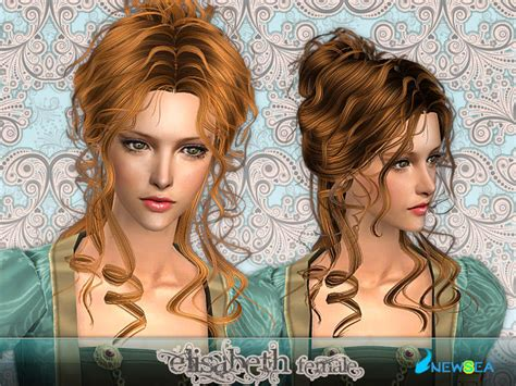 download hairstyles for sims 2 newsea sims2 hair yu067f elisabeth