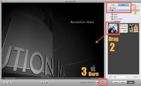imovie tutorial for slideshow 2 ways to export a slideshow from iphoto to idvd and burn dvd