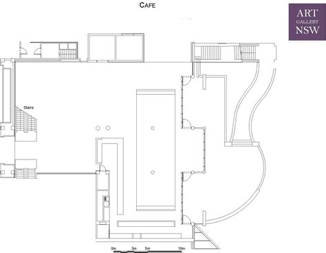 gallery floor plans cafe courtyard foyer venue hire facilities plan