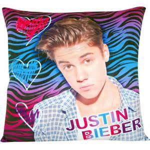 justin bieber zebra decorative pillow walmart