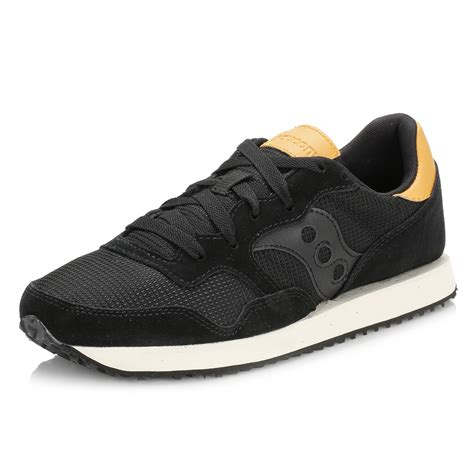 womens black saucony running shoes saucony womens black trainers lightweight midsole