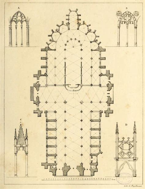 cathedral floor plan floor plan and architectural details of the cathedral