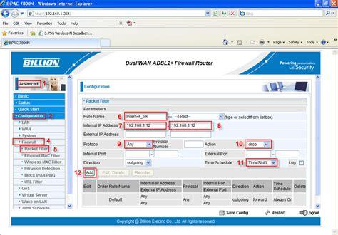 Blockers Times 7800n Time Schedule Powered By Kayako Help Desk Software