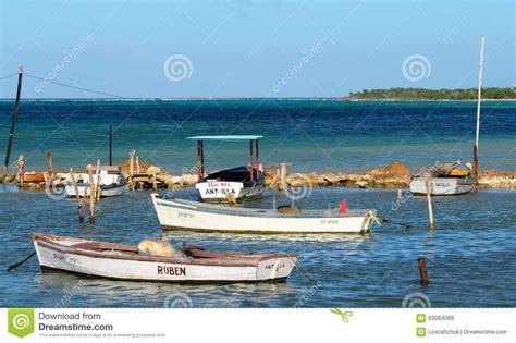 small boat fishing magazine small fishing boats in cuba editorial photo image of