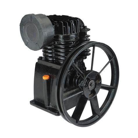 hp  psi cast iron twin cylinder air compressor pump