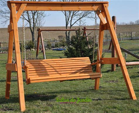 Balancelle De Jardin En Bois 6670 by Construire Une Balancoire Palettes Bois Accueil Design