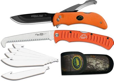outdoor edge razor outdoor edge razor pro knife and saw combo orange oe roc30