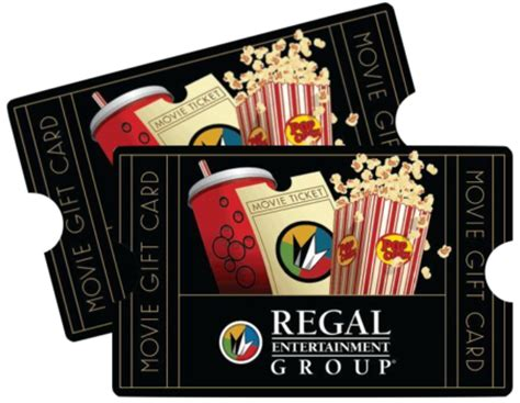 Movie Gift Cards - 40 for 50 regal movie gift card free shipping