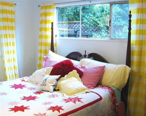 colorful bedroom curtains inspiring teenage bedrooms with sweet single bedroom