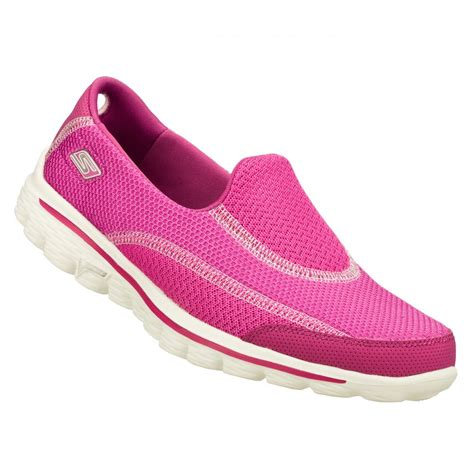 Slip On On19 Putih 2 skechers skechers go walk 2 spark raspberry n53 z 19 13591 womens slip on skechers from