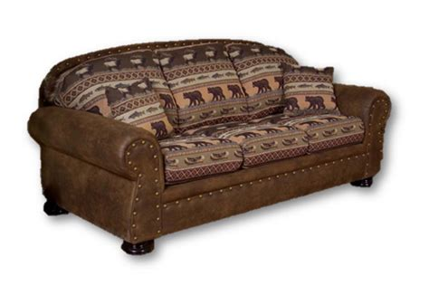 rustic sleeper sofa rustic sleeper sofa cabela s marshfield furniture deluxe