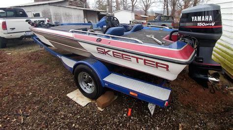 skeeter boats videos 1991 skeeter sf175sf youtube