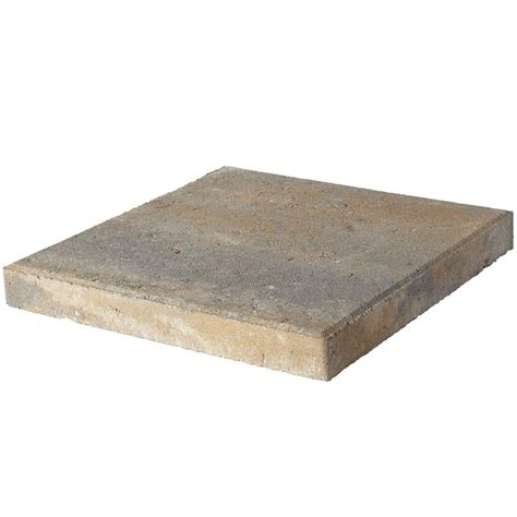 16x16 Patio Pavers Home Depot Pavestone 16 In X 16 In Yukon Concrete Step 72650 The Home Depot