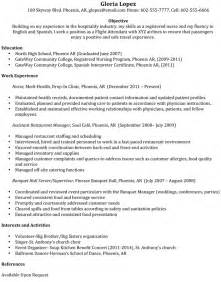 American Airlines Flight Attendant Sle Resume by Flight Attendant Cover Letter Newhairstylesformen2014