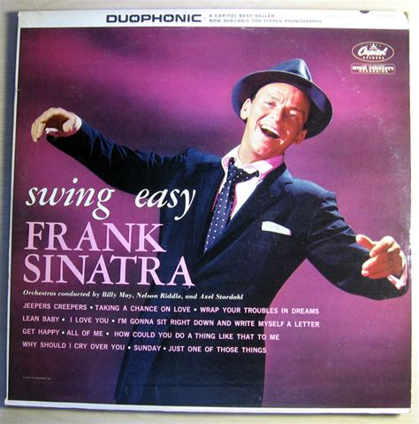 frank sinatra swing songs frank sinatra swing easy and songs for young lovers