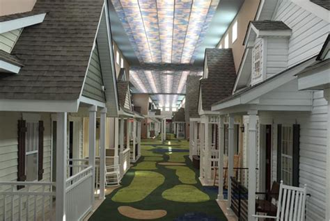 living houses this assisted living facility is designed to look like a