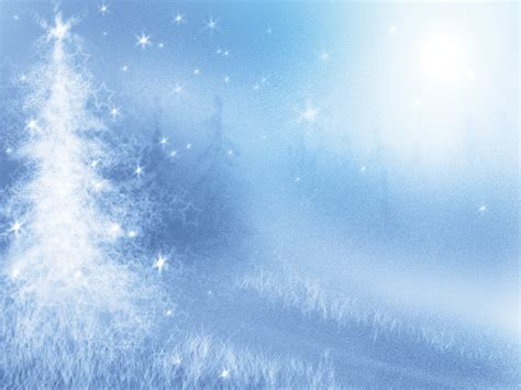 Pine Winter With Tree Backgrounds Christmas Holiday Templates Free Ppt Backgrounds And Free Winter Powerpoint Templates