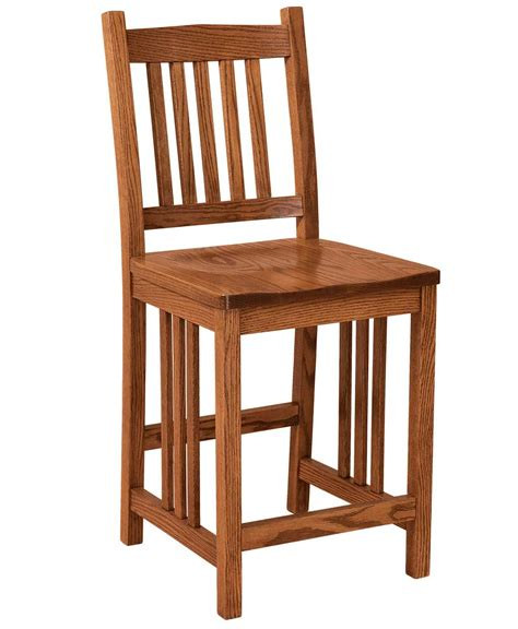 Amish Furniture Bar Stools by Mission Bar Stool Amish Direct Furniture