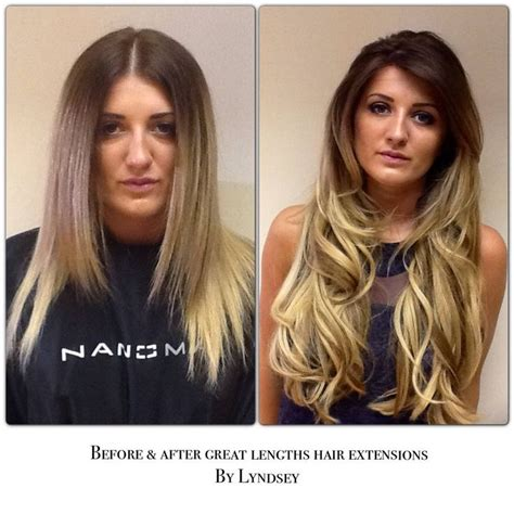 great lengths hair extensions before during after cold great lengths hair extensions before and after ariana