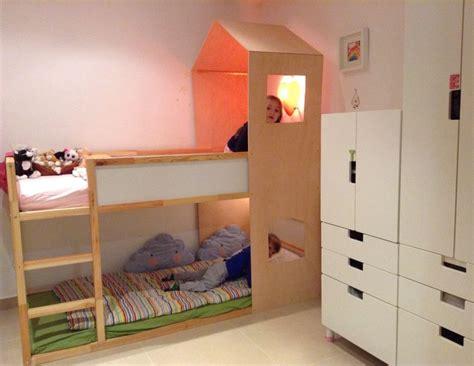 ikea kura hack bunk bed playhouse kids room