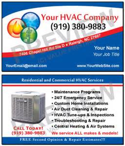 hvac business cards free design fast shipping on hvac business cards and more