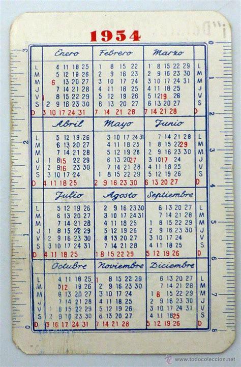Arreter De Fumer Bienfaits Calendrier Calendario De 1954 28 Images Categoria 1 P 225 8 A