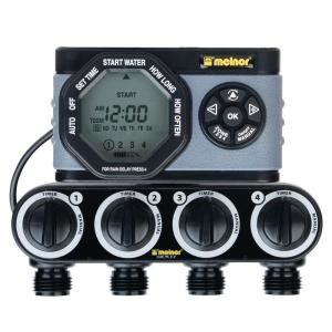 melnor advanced  zone electronic water timer  hd