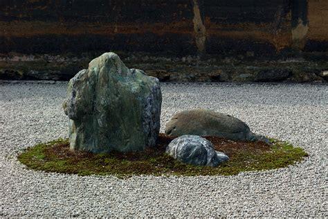 Zen Garden Rocks Japan