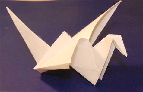 how to make an origami bird that flies origami flying bird