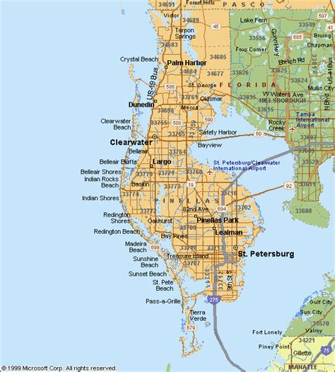 Search Pinellas County Florida Pinellas County Map