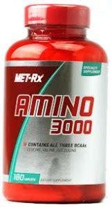 Suplemen Amino 3000 295rb 085642299885 Amino 3000 Met Rx 325 Tablet