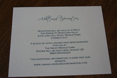 wedding invitations additional information exles 301 moved permanently