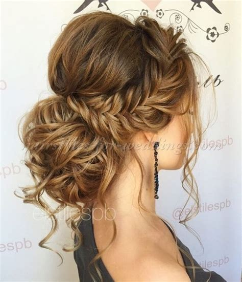Wedding Hairstyles Braids Low Bun by Low Bun Wedding Hairstyles Chignon With Braid